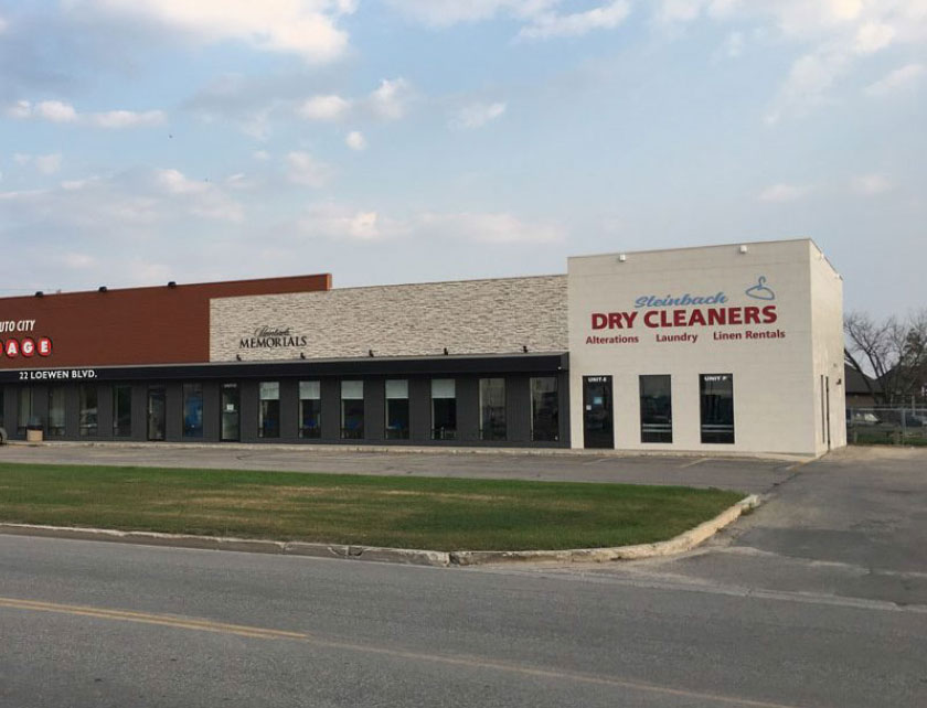 Steinbach Dry Cleaners Building